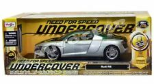 Maisto Audi R8 Need For Speed 1/18 Diecast Green/Silver
