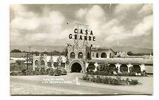 Vintage Postcard RPPC CUIDAD DE VALLES Mexico CASA GRANDE HOTEL