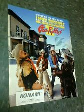 Konami LETHAL ENFORCERS GUN FIGHTERS 2 flyer- good original