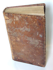 FLAVIUS JOSEPHUS {Jewish Historian Volume 2} Antique Book 1829 Deer Skin Covered