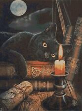 THE WITCHES CAT - CROSS STITCH CHART