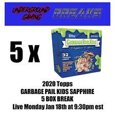 2020 Topps Garbage Pail Kids Sapphire 5 Box Break #20211 - 66b Rachel Rodent