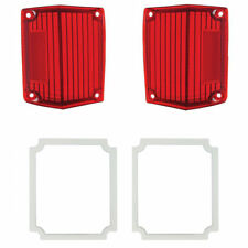 1970-1972 Chevy El Camino & Malibu Station Wagon Tail Light Lenses & Gasket Kit