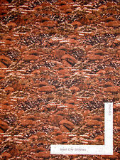 Rock Boulder Warm Brown Cotton Fabric RJR Dan Morris Danscape Summerscape - Yard