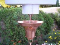 NEW Stanwood Rain Chain Copper Gutter Adaptor for Rain Chain Installation