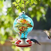 Hummingbird Feeders for Outdoors Bird Feeder Garden Tree Yard Glass Decorations