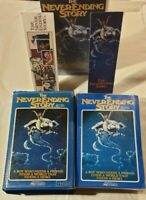 The NeverEnding Story VHS Bundle Wolfgang Petersen [3 Versions w/ Bookmarks]