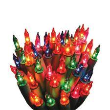 NUOVO 40 lucine con Multi Colore Lampadine per Albero di Natale Decorazione Finestra