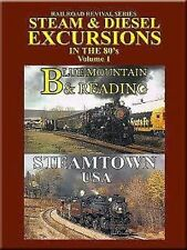 Steam & Diesel Excursions in the 80's Vol 1 Blue Mountain & Reading DVD NEW