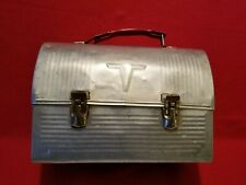 Vintage Metal Dome Type Victory Thermos Brand Lunch Box