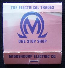 Middy's Middendorp Electric Co One Stop Shop Preston 440644 Matchbook (Mk2)