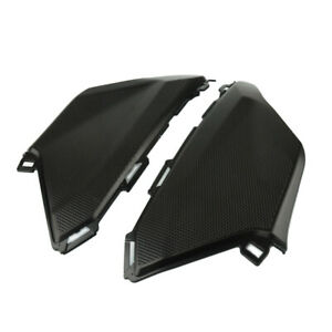 For 2017 2018 CBR1000RR Gas Tank Side Knee Trim Cover Fairing Cowling Black