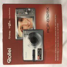 Come Nuovo Ovp Top-fotocamera digitale Rollei rcp-8325x IMBALLAGGIO ORIGINALE COMPLETO