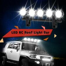NEW G.T.POWER LED Roof Light Bar Set 5 Spotlight For 1/10 RC Crawlers Car