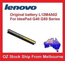 New Genuine Original LENOVO IDEAPAD G50 G50-30 G50-80 Z40 Battery L12S4A02