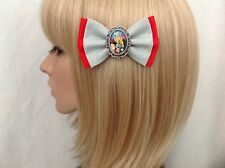 Thor hair bow clip rockabilly pin up girl geek super hero marvel dc comics