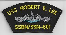 USS Robert E. Lee SSBN/SSN 601 - Hat Patch - BcPatch - C7181