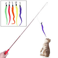 Cat Toy Plush Replacement Kitten Pet Dog Teaser Funny Play Interactive FeatheR8Y