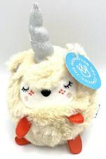 Squeezmeez Unicorn Soft Plush Toy NEW with Tags