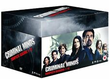 CRIMINAL MINDS COMPLETE SERIES SEASON 1 2 3 4 5 6 7 8 9 10 11 12 DVD BOXSET 1-12