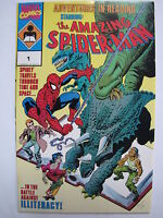 Adventures In Reading starring the Amazing Spider-Man (1990, Marvel) [VF+ 8.5]