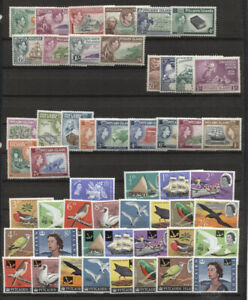 PITCAIRN ISLAND 1949-1967 COLLECTION ON STOCK PAGE MINT includes nos. 1-8 20-30