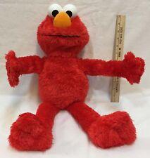 """Elmo Big Hugs Sesame Street Sings And Talks 2012 Hasbro 22"""" Works"""