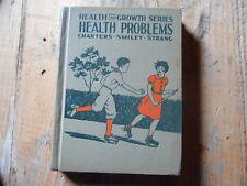1937 Vintage Textbook Health Problems