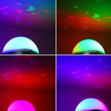 LED Star Color Change Table Clock Night Light Magic Projection Projector Alarm