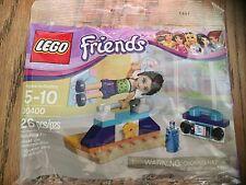 Lego 30400 Friends Naomi Gymnastic bar new sealed radio star water bottle