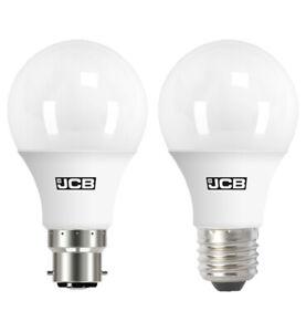 JCB 6w=40w 10w=60w 15w=100w LED GLS Lamp BC B22 ES E27 Warm Cool Daylight White