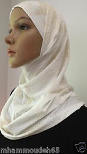 Best Quality Hijab Amira 2 Piece Fancy Pattern HeadScarf in Many Colors .