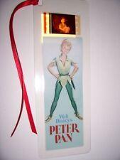PETER PAN Disney Movie Memorabilia Film Cell Bookmark