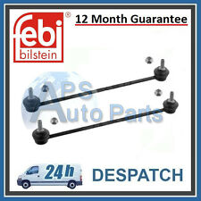 2x Citroen C2 C3 Peugeot 206 1007 Front Axle Stabiliser Drop Link Rod New Febi