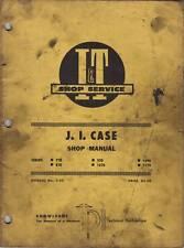 J.I. Case Series 770 - 1170 I&T Tractor Shop Service Repair Manual