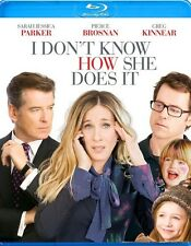 I DON'T KNOW HOW SHE DOES IT****BLU-RAY****REGION B****NEW & SEALED