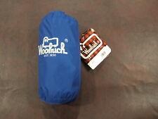 Woolrich Pack-It Jacket L NWT Travel Royal Blue Lightweight Pouch Windbreaker