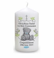 Cellini Candles Personalised Tatty Teddy First Holy Communion Memento #1