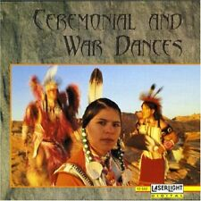 New: CEREMONIAL & WAR DANCES (Various Native American Tribes) CD