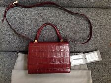 Max Mara JBAG Calf Leather Small Handbag Purse Msrp USD 1190