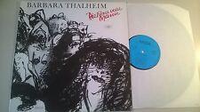 LP Polit Barbara Thalheim - Die Frau vom Mann (13 Song) AMIGA REC