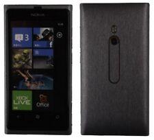 Skinomi Full Body Brushed Steel Phone Skin+Screen Protector for Nokia Lumia 800