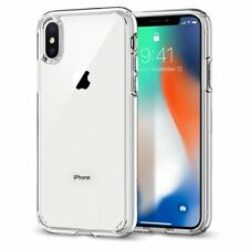 Custodia Ultra Hybrid per iPhone X, Trasparente (Crystal Clear), Spigen