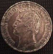 1 VEREINSTHALER 1859 F IOHANN SPL/FDC RARE EN L'ETAT