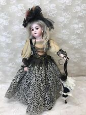 Antique Swivel Neck German Lady Doll Antique Clothing