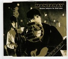(GW541) Mantaray, Know Where To Find You - 1997 CD