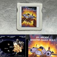 DS - Arcade Shooter classics 10 in 1 For Nintendo DS DSi 3DS 2DS Game Only