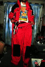 HMK Rock Water Designs Snow Mobile Suit (Jacket & pants) never worn Red XXL