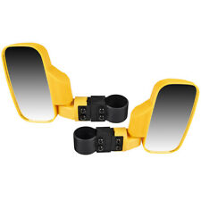 Yellow Side View Mirror Set 1998-2019 Polaris Ranger RZR XP Crew 1000 570 900