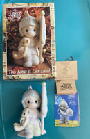 """Mint"" Spec 1992 Christopher Columbus-This Land Is Our Land Precious Moments NOS"